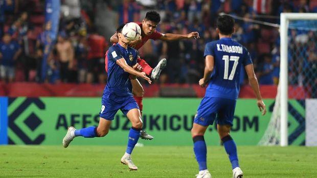 Timnas Indonesia memberi perlawanan cukup apik ketika menghadapi Thailand pada 30 menit pertama.
