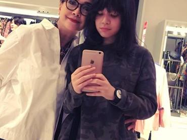 Widyawati cukup dekat dengan Julia yang merupakan anak dari Romy Sophiaan.(Foto: Instagram @phandya)