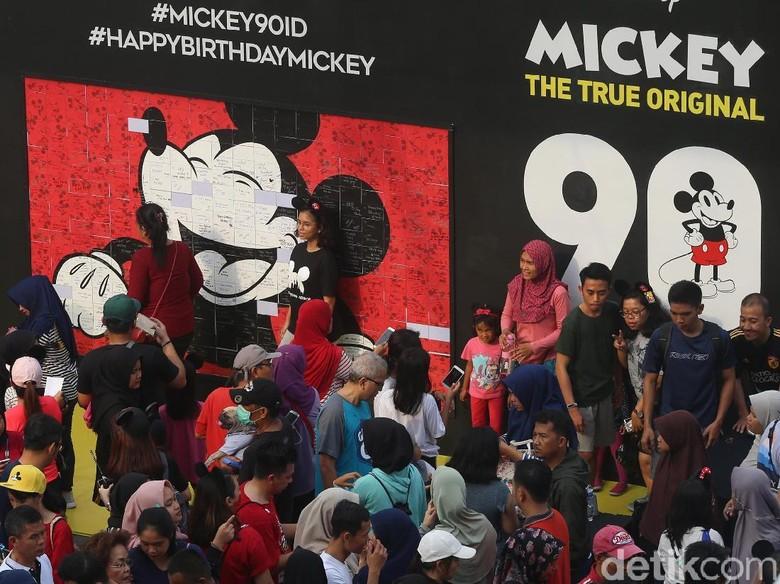 Rayakan Ultah ke-90, akan Ada Proyek Film untuk Mickey Mouse? Foto: Ari Saputra/ detikHOT
