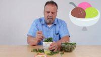 Pria Ini Makan Es Krim dengan Lobster, Saus Tomat hingga Tiram Mentah