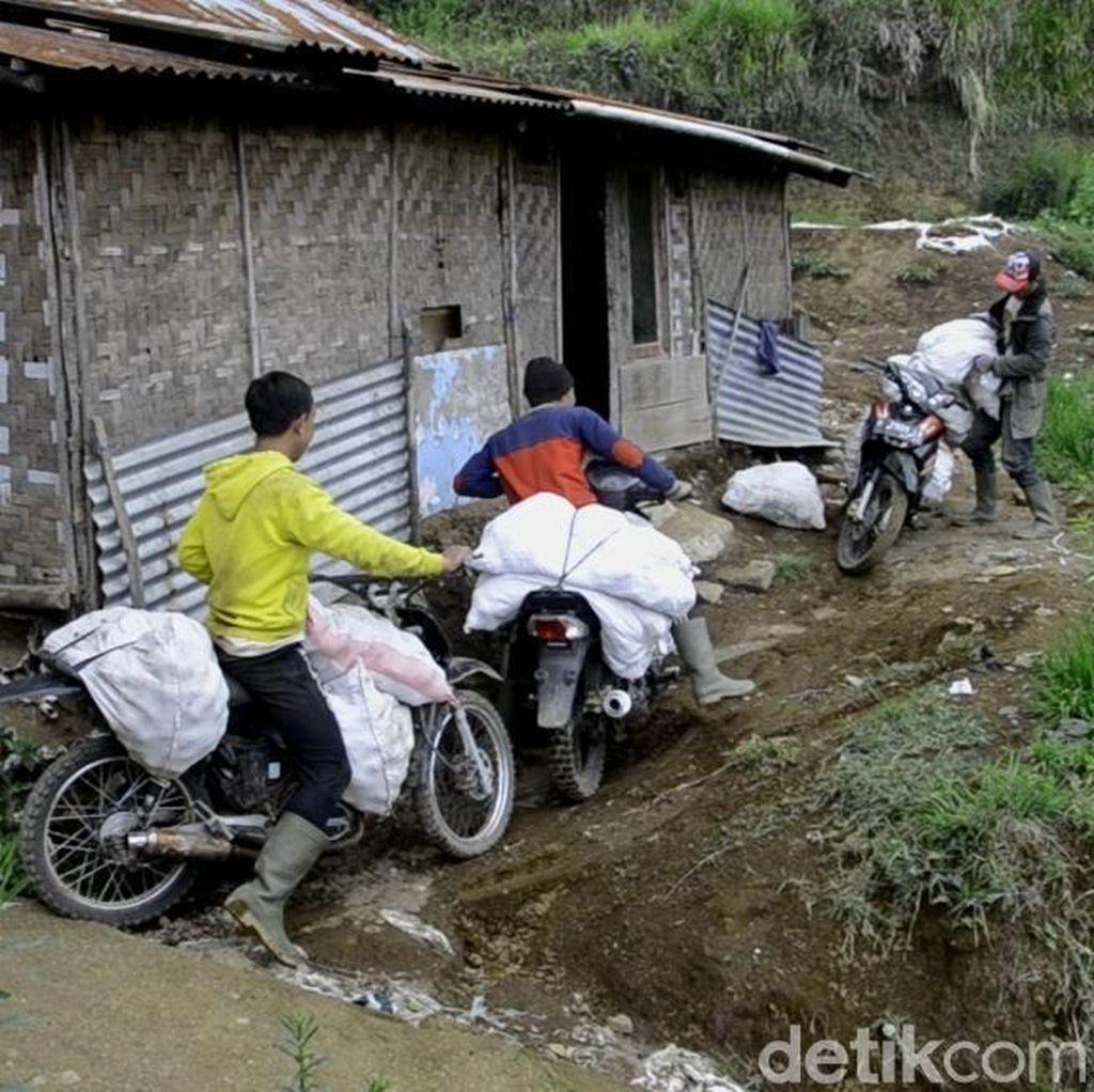 Seperti Ini Kondisi Sigandul, Kampung Hilang di Lereng Dieng