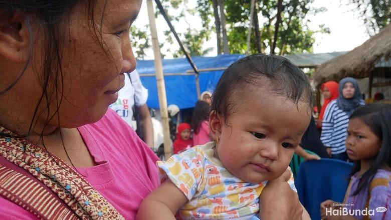 Ingin Kenang Gempa Lombok, Seorang Ibu Namai Anaknya Gempita/ Foto: Amelia Sewaka