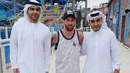Foto: Tempat Messi Basah-basahan di Dubai