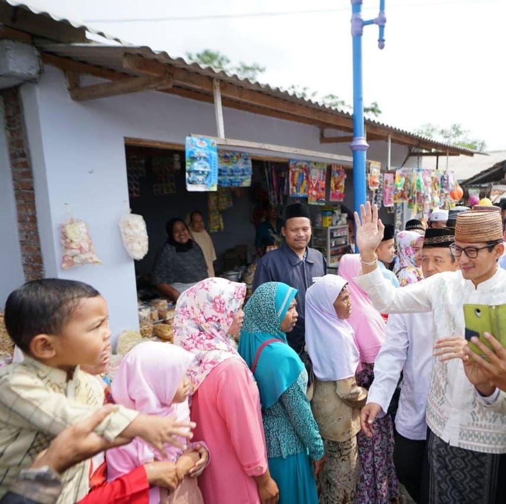 Di Magelang, Sandi Kagumi Geliat Ekonomi Sekitar Pengajian Pesantren