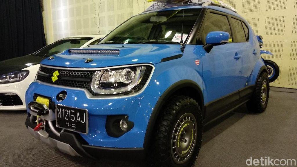 Kekarnya Suzuki Ignis City Slicker