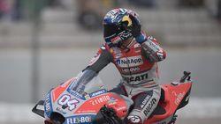 Sempat Dihentikan Hujan, MotoGP Valencia Dimenangi Dovizioso