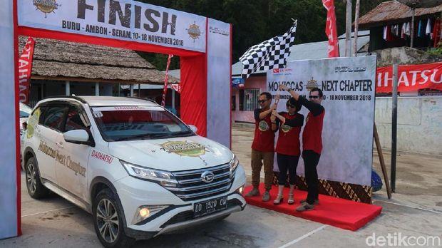 Daihatsu 7 Wonders finish di Maluku