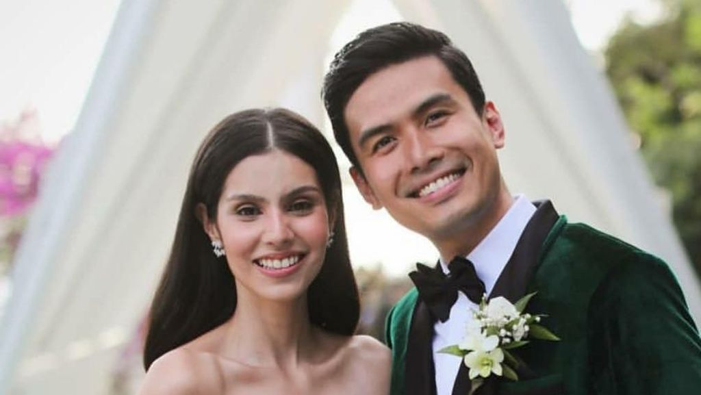 Dinikahi Christian Bautista di Bali, Kat Ramnani Cantik Bergaun Mermaid