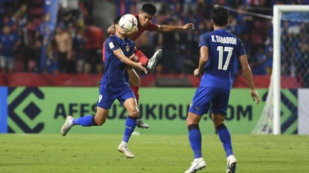Timnas Indonesia sempat membuat Thailand kesulitan.