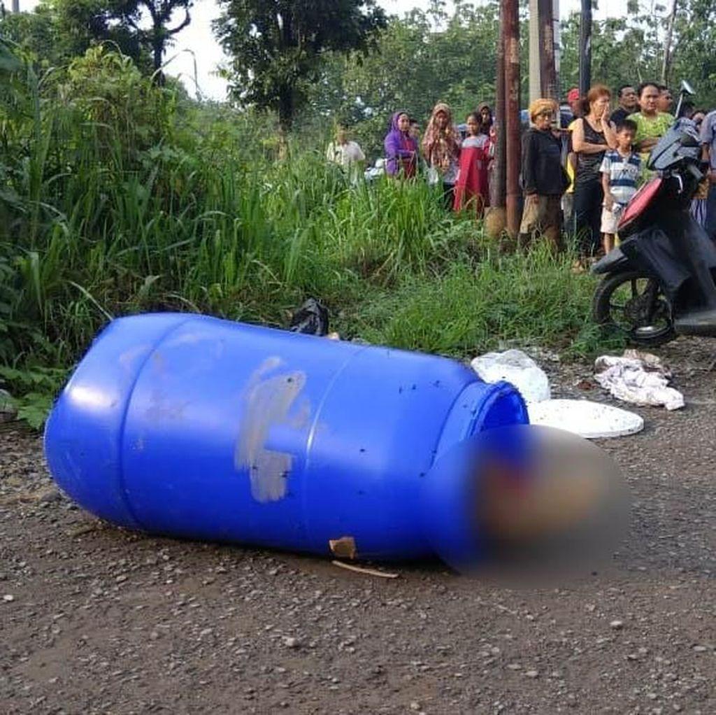 Ini Identitas Mayat yang Ditemukan dalam Drum di Bogor