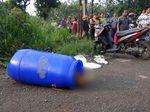 Mayat Dalam Drum Ditemukan Pemulung di Bogor