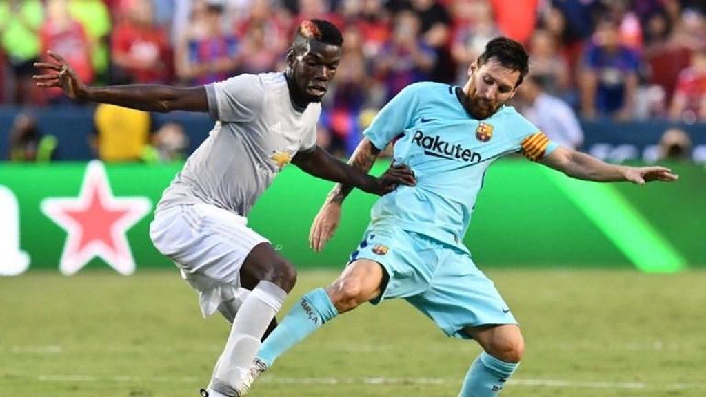 Pogba dan Messi Berjumpa di Resto Salt Bae, Ngobrolin Apa Ya?