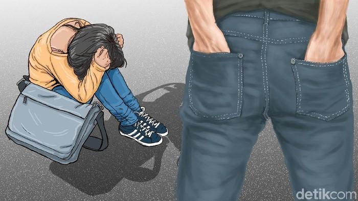 Punya pacar kasar, entah main tangan atau bicara kasar mungkin pernah dialami oleh sebagian orang. Tapi kok masih ada yang bertahan ya? Ini kata psikolog. Foto: Edi Wahyono