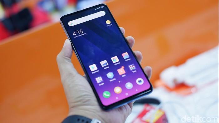 Xiaomi Mi Mix 3. Foto: Adi Fida Rahman/detikINET