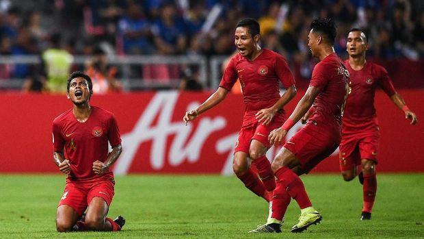Timnas Indonesia tak mungkin bisa duduk di posisi dua besar meski masih memiliki satu laga tersisa.
