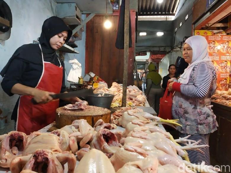 Harga Daging Ayam dan Telur di Jember Naik Jelang Maulid Nabi