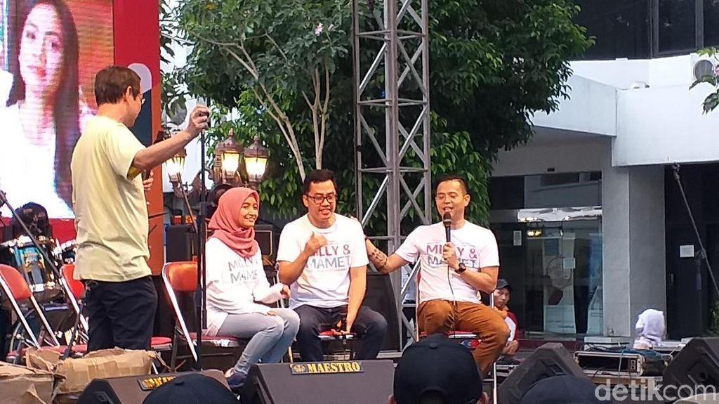 Promo Milly & Mamet, Dennis Adhisawara Harap Dapat 2 Juta Penonton