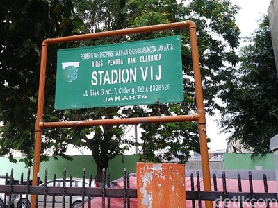 Foto: Stadion Saksi Berdirinya Persija Jakarta