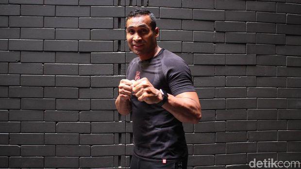 Umar Syarief, master trainer Strong by Zumba