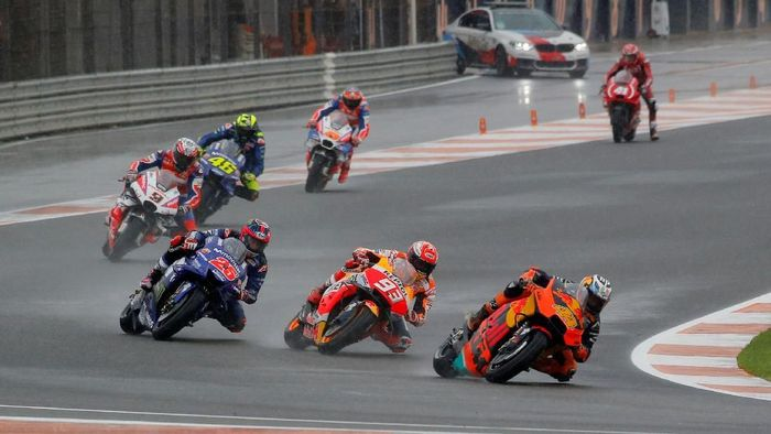 Momen-momen terbaik MotoGP 2018. Foto: Heino Kalis/Reuters