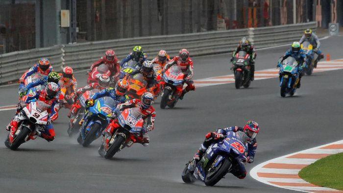 Live streaming MotoGP Valencia bisa disaksikan di sini. (Foto: Heino Kalis/Reuters)