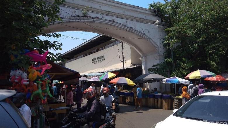 Pasar Kanoman di Cirebon (Sudirman/detikTravel)