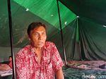 Warga Sudah Mengungsi Sebelum Tanah di Pademangan Amblas