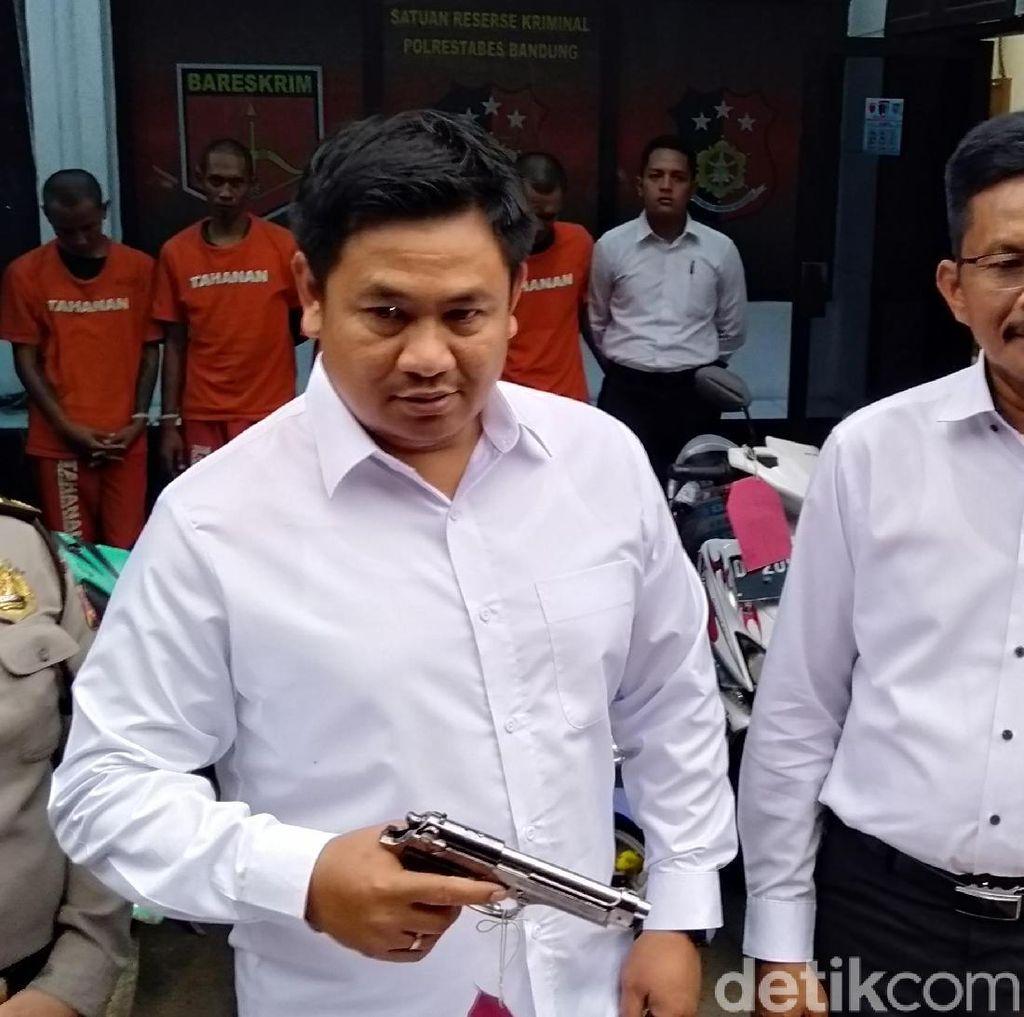 Begal Pakai Senpi Mainan, Cepot Lumpuh Ditembak Polisi Bandung