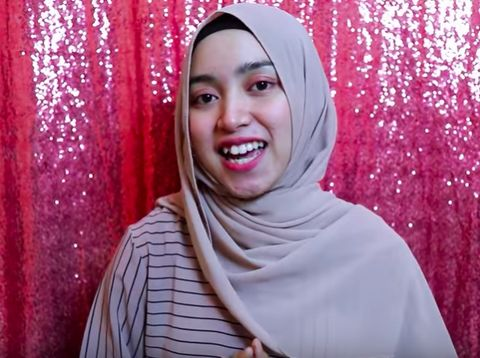 Tutorial Hijab Dalam 20 Detik Gaya Aghnia Punjabi Dan Nissa Sabyan