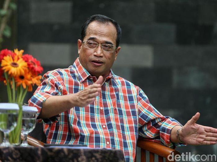 Foto: Menteri Perhubungan Budi Karya Sumadi (Ari Saputra-detikcom)