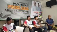 Paguyuban Pecel Lele Lamongan Deklarasi Jokowi-Ma'ruf Amin