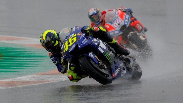 Valentino Rossi gagal meraih gelar juara seri pada musim balap 2018.