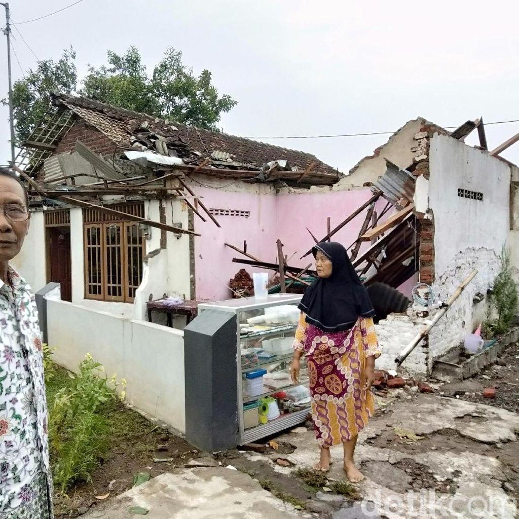 Angin Kencang Terjang 5 Desa di Sidoarjo, 80 Rumah Rusak