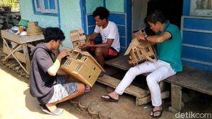 Saat Limbah Bambu Disulap Jadi Kerajinan Tangan Bernilai Tinggi