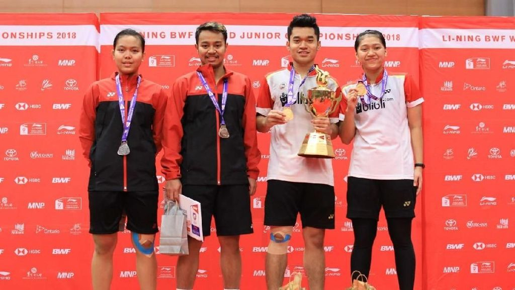 Leo/Indah Menangi All Indonesian Final di Kejuaraan Dunia Junior 2018