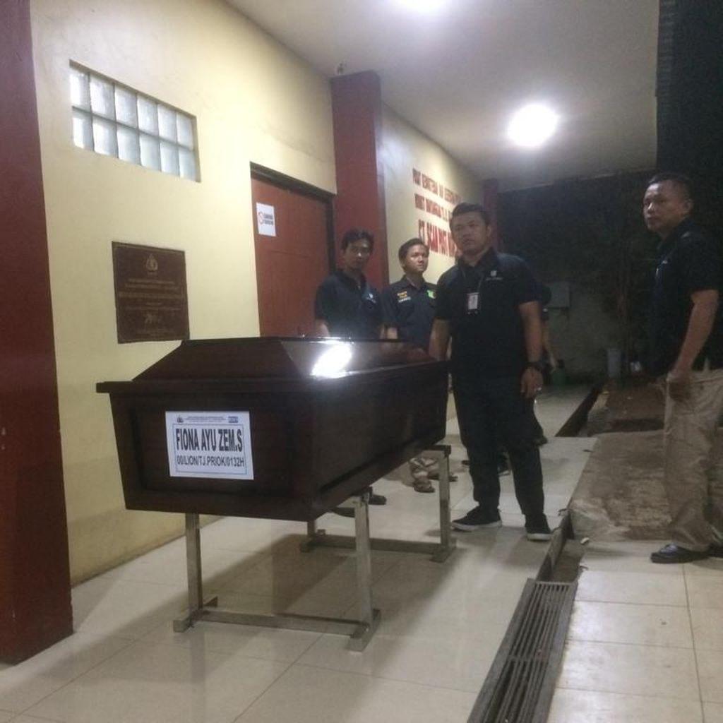 Jenazah Fiona Ayu Zen Korban Lion Air Diserahkan ke Keluarga