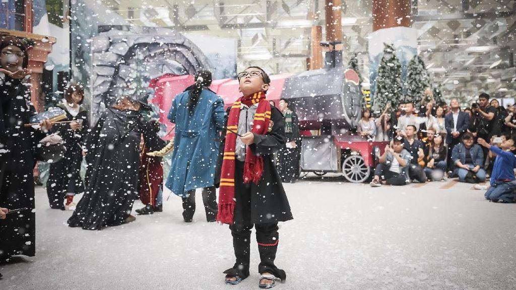Foto: Tersihir Dunia Harry Potter di Bandara Changi