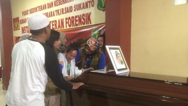 Peti jenazah korban Lion Air PK-LQP, Fiona Ayu Zen.