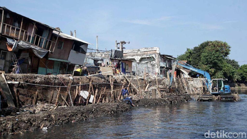 Cerita Warga Jelang Tanah Amblas di Kelurahan Ancol