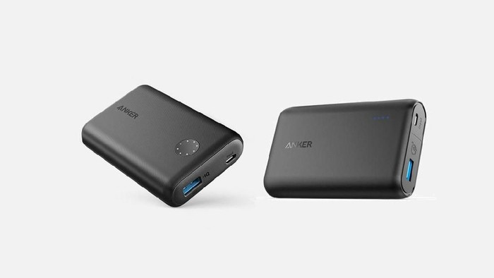 Dari Kiri: PowerCore II 10000 dan PowerCore Speed 10000 QC. Foto: Anker