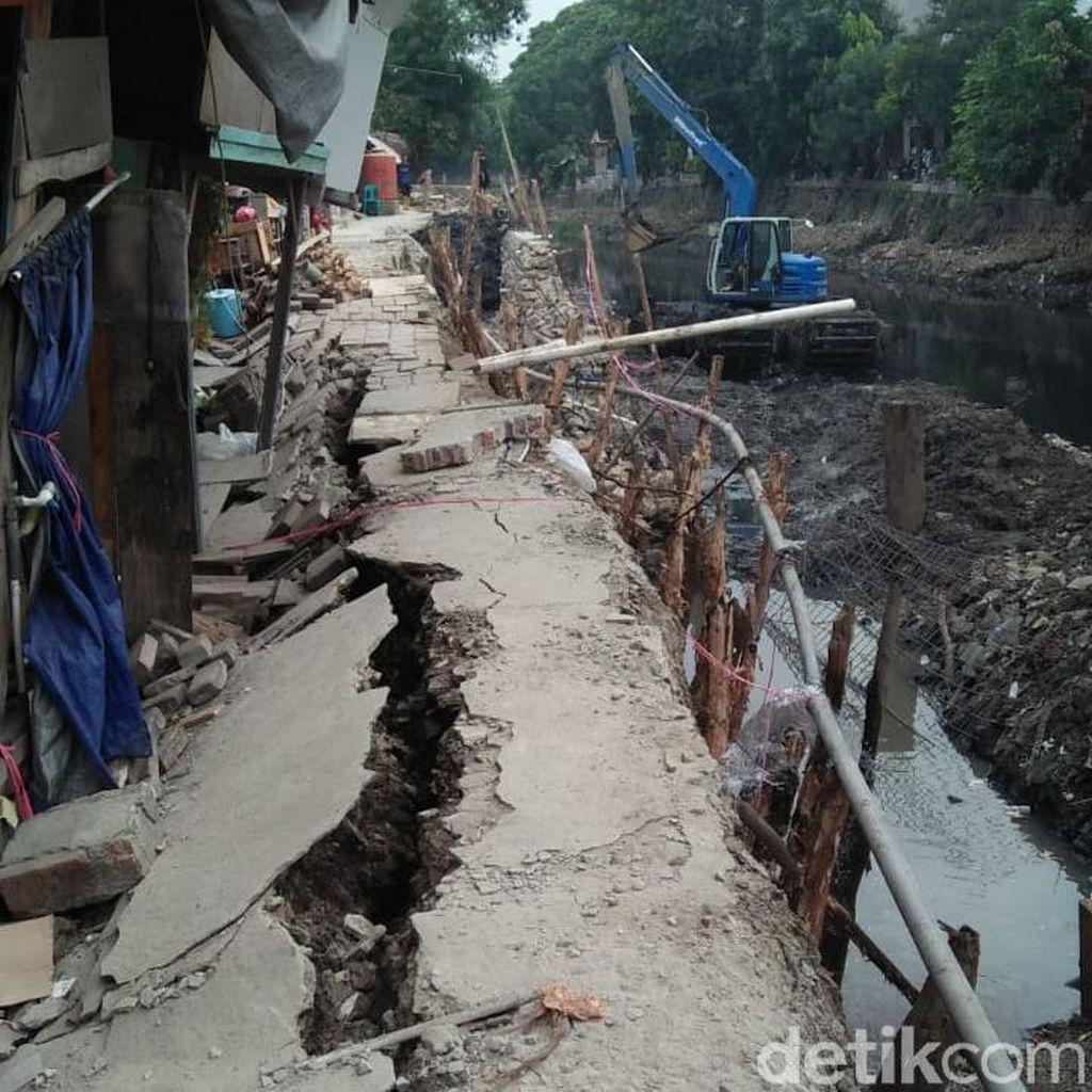 Tanah Amblas di Kelurahan Ancol, 3 Rumah Rusak