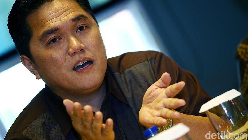 Soal Utang untuk Infrastruktur, Erick Thohir: Bukan Pemborosan