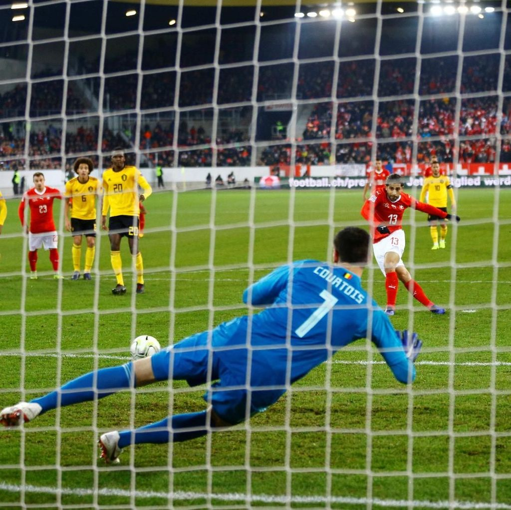 Kalahkan Belgia 5-2, Swiss ke Semifinal UEFA Nations League