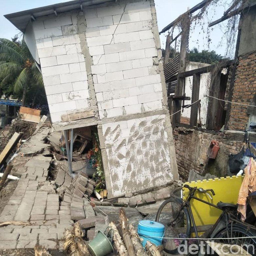 Tanah Amblas di Pademangan, 6 KK Diungsikan