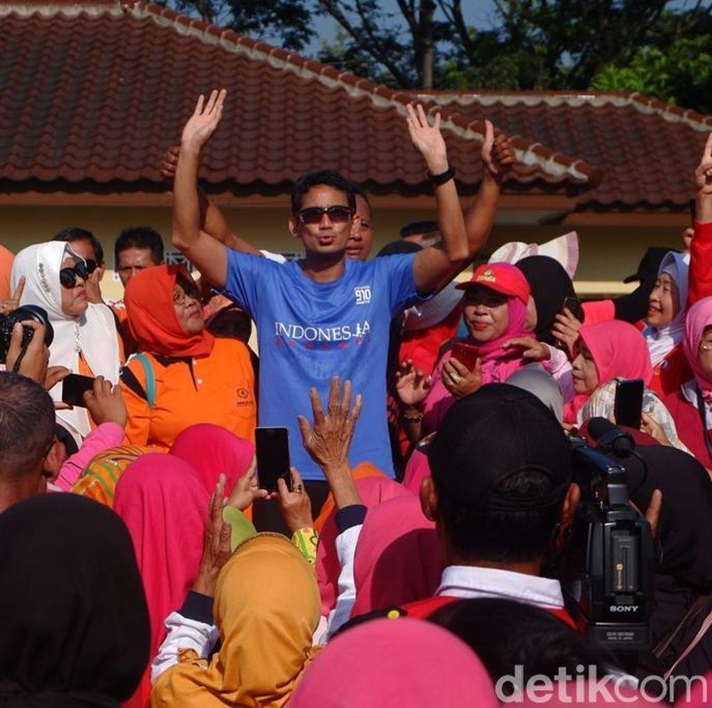 Soal Goreng Harga Sembako, Sandi: Nggak Boleh Cengeng