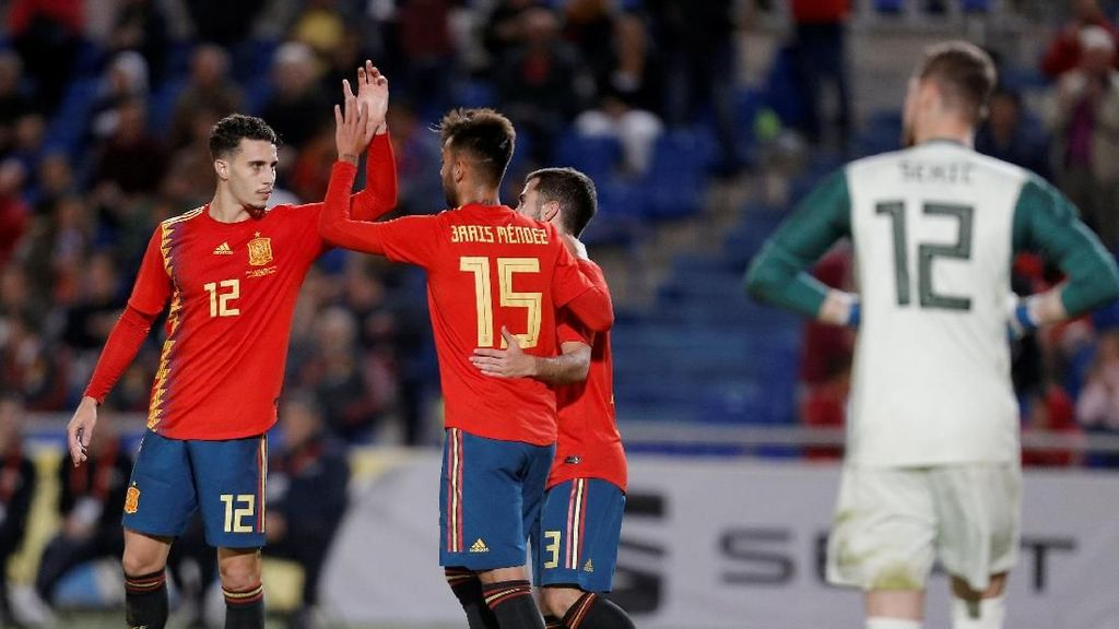 Hasil Uji Coba: Spanyol Menang 1-0 atas Bosnia