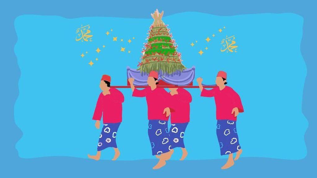Tradisi Maulid di Nusantara, dari Sekaten hingga Bungo Lado