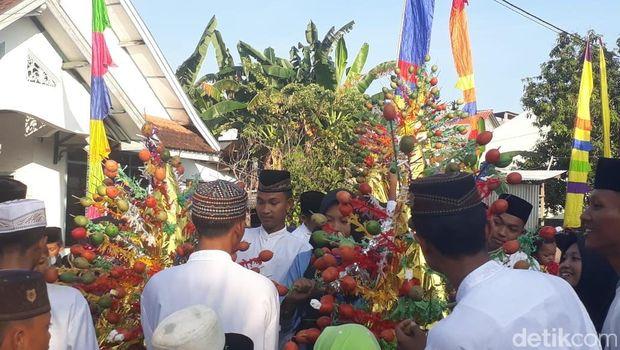 Peringatan hari Maulid Nabi di Karimunjawa.