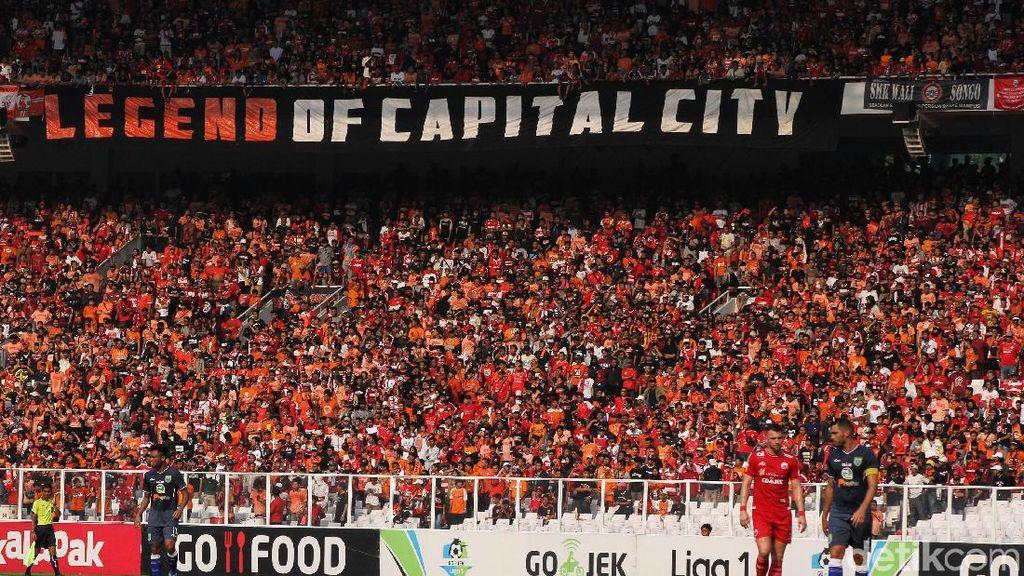 Bangun Stadion Tak Sekilat Bikin Lemper, Persija Musafir 3-4 Tahun Lagi
