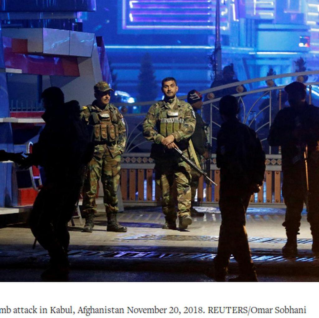 Teror Bom di Afghanistan, 30 Ambulans Dilarikan ke Lokasi